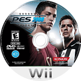 Pro Evolution Soccer 2009 Wii disc (R2WEA4)