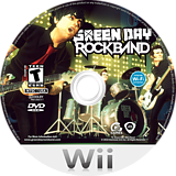 Green Day: Rock Band Wii disc (R36E69)