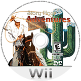 Story Hour: Adventures Wii disc (R3AE20)