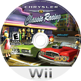 Chrysler Classic Racing Wii disc (R3CE20)