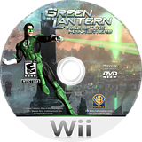 Green Lantern: Rise of the Manhunters Wii disc (R3LEWR)