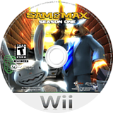 Sam & Max: Season One Wii disc (R3XE6U)