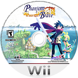 Phantom Brave: We Meet Again Wii disc (R46ENS)