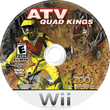 ATV Quad Kings Wii disc (R47E20)