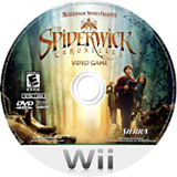 The Spiderwick Chronicles Wii disc (R48E7D)