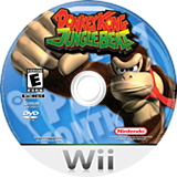 Donkey Kong Jungle Beat Wii disc (R49E01)