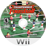 Championship Foosball Wii disc (R4BEJZ)