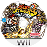 Mario Strikers Charged Wii disc (R4QE01)