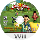 Academy of Champions: Soccer Wii disc (R5FE41)