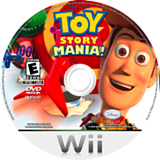Toy Story Mania! Wii disc (R5IE4Q)