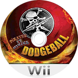 Pirates vs Ninjas Dodgeball Wii disc (R5JES5)