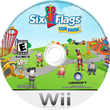 Six Flags Fun Park Wii disc (R6FERS)