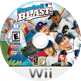 Baseball Blast! Wii disc (R6IE54)