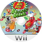 Jelly Belly Ballistic Beans Wii disc (R7BE20)