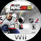 NHL 2K10 Wii disc (R7OE54)