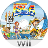 Vacation Isle: Beach Party Wii disc (R7VEWR)