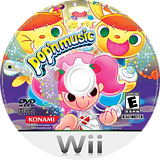 Pop'n Music Wii disc (R83EA4)