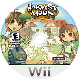 Harvest Moon: Tree of Tranquility Wii disc (R84EE9)