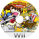 Fast Food Panic Wii disc (R8FES5)