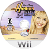 Hannah Montana: The Movie Wii disc (R8HE4Q)