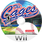 The Cages: Pro Style Batting Practice Wii disc (R8NEA4)