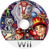 Ringling Bros. and Barnum & Bailey Circus Wii disc (R8OE54)