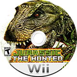 Jurassic: The Hunted Wii disc (R8XE52)