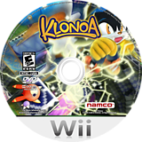Klonoa Wii disc (R96EAF)