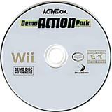 Activision Demo Action Pack (Demo) Wii disc (R9AE52)