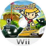 Drawn to Life: The Next Chapter Wii disc (R9DE78)