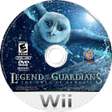 Legend of the Guardians: The Owls of Ga'Hoole Wii disc (R9GEWR)