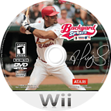 Backyard Baseball '09 Wii disc (RB8E70)