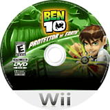 Ben 10: Protector of Earth Wii disc (RBNEG9)