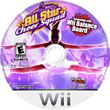 All Star Cheer Squad Wii disc (RCXE78)
