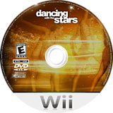 Dancing with the Stars Wii disc (RD8E52)