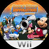 Dance Dance Revolution: Disney Grooves Wii disc (RDNEA4)
