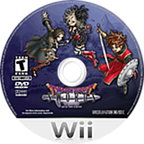 Dragon Quest Swords: The Masked Queen and The Tower of Mirrors Wii disc (RDQEGD)