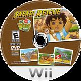 Go, Diego, Go! Safari Rescue Wii disc (REQE54)