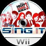 Disney Sing It: High School Musical 3 Senior Year Wii disc (REYE4Q)