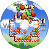 Super Fruit Fall Wii disc (RF4E36)