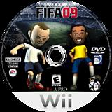 FIFA Soccer 09 All-Play Wii disc (RF9E69)