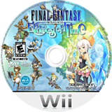 Final Fantasy Crystal Chronicles: Echoes of Time Wii disc (RFFEGD)