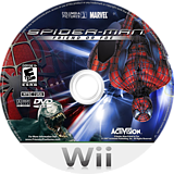 Spider-Man: Friend or Foe Wii disc (RFOE52)