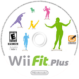 Wii Fit Plus Wii disc (RFPE01)
