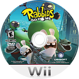 Rabbids Go Home Wii disc (RGWE41)