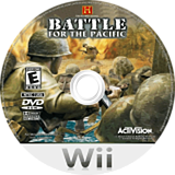 The History Channel: Battle for the Pacific Wii disc (RHCE52)