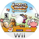 Harvest Moon: Magical Melody Wii disc (RHMEE9)
