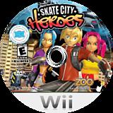 Skate City Heroes Wii disc (RHUE20)