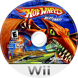 Hot Wheels: Beat That! Wii disc (RHWE52)
