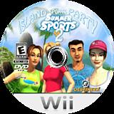 Summer Sports 2: Island Sports Party Wii disc (RI6ENR)
